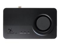 ASUS Xonar U5 Lydkort 24 bit 192 kHz 104 dB SNR 5.1 USB CM6631A