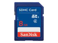 SanDisk Standard - Tarjeta de memoria flash - 8 GB