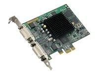 Millennium G550, PCIe 1x, Dual DVI, 32MB
