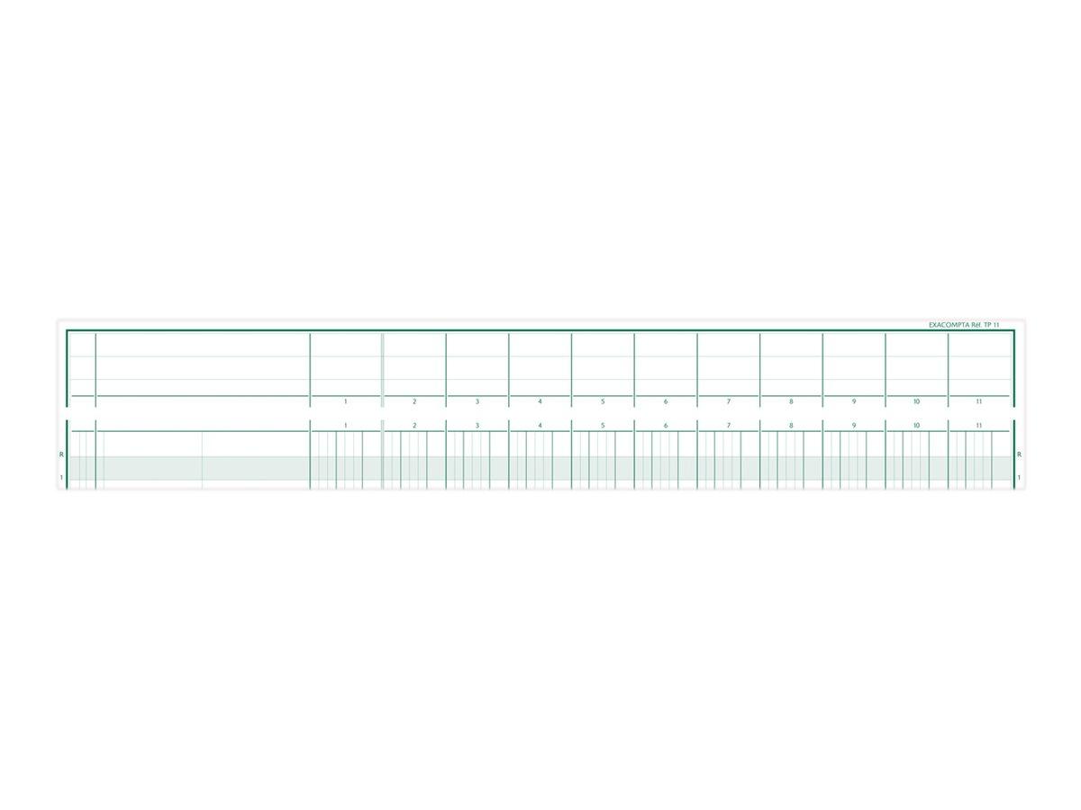Exacompta TP11 - piqûre comptable à tête paresseuse