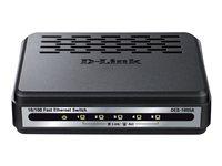 D-Link DES 1005A - Conmutador - sin gestionar