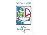 Dell SonicWALL Gateway Anti-Virus, Anti-Spyware, Intrusion Prevention and Application Intelligence for SonicWALL TZ 205