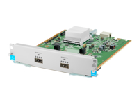 HPE - Expansion module - 40 Gigabit QSFP+ x 2 - for HPE Aruba 5406R, 5406R 16, 5406R 44, 5406R 8-port, 5406R zl2, 5412R, 5412R 92, 5412R zl2