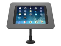 K/iPad Air Rokku+Kiosk Stnd FlxArm Black