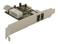 Delock PCI Express Card > 2 x external/, Delock PCI Express Card