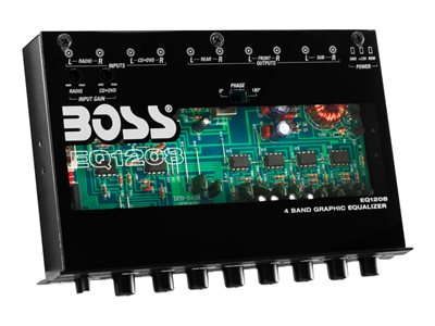 BOSS EQ1208 - Car - equalizer - external - Half-DIN