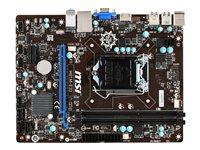 MSI MB H81M-E33 1150 MATX 2DDR3 HDMI/VGA GLAN