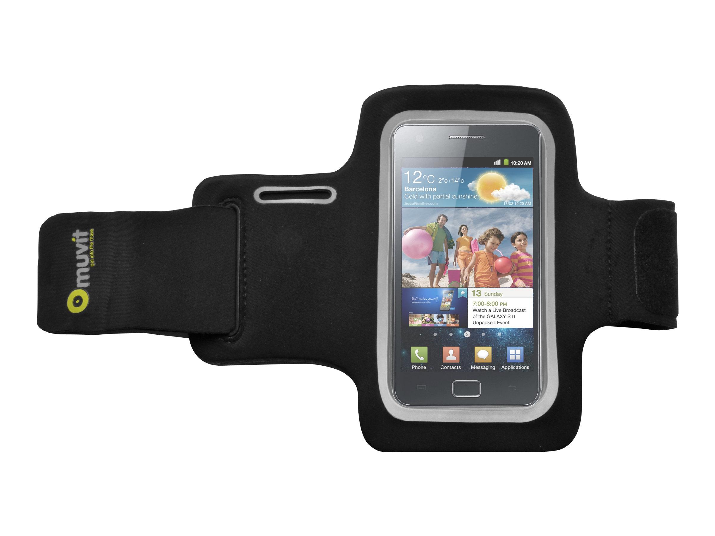 Muvit brassard smartphone universel diff rentes for Bureau brassard