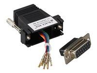 GigaBase CAT5e Patch Cable Black Box EVNSL89-0020 Pack of 10 pcs