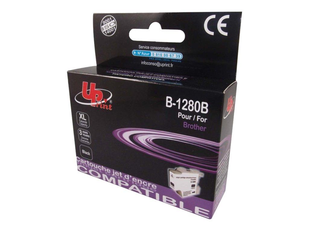 UPrint B-1280B - taille XL - noir - cartouche d'encre (équivalent à : Brother LC1240BK, Brother LC1280XLBK)