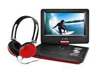 "Ematic EPD116 - DVD player - portable - display: 10"" - red"