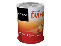 Sony CD-R/W et DVD-R 100DMR47SP