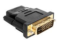 Delock Adapter DVI 24+1 pin male > HDMI, Delock Adapter DVI 24+1