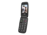 Doro PhoneEasy 612 - noir - GSM - téléphone mobile