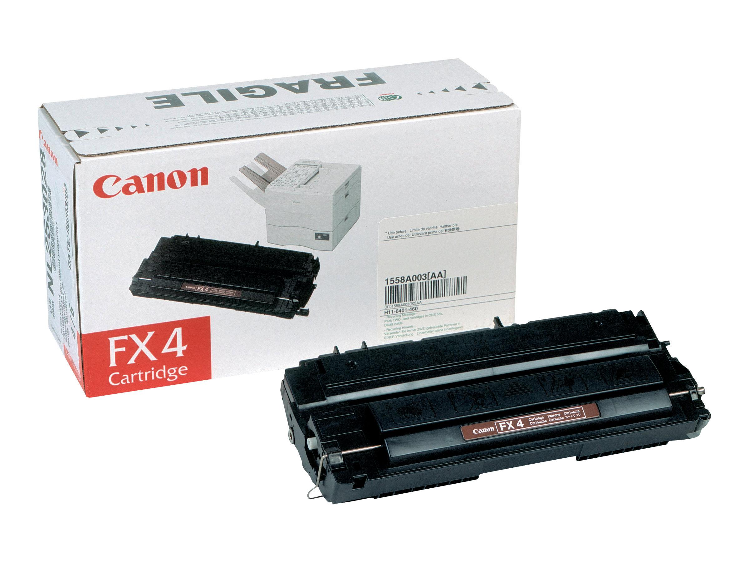 Canon FX-4 - noir - originale - cartouche de toner