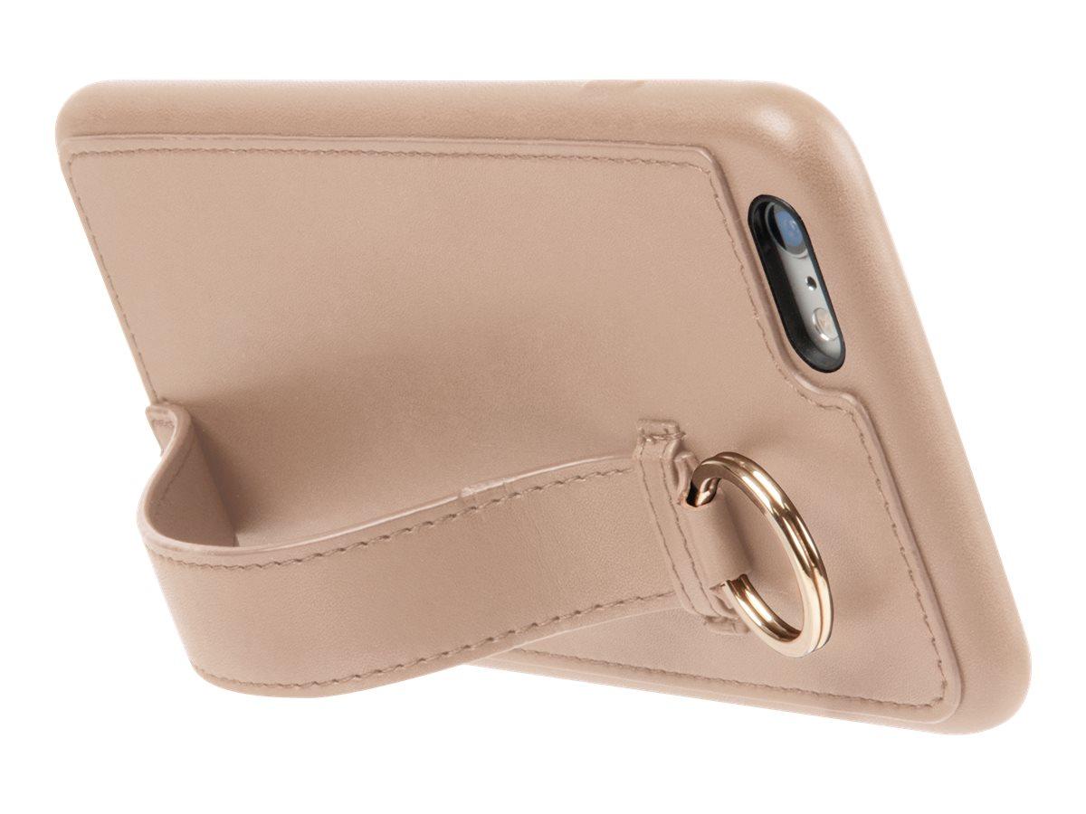 MUVIT LIFE Ring - Coque de protection pour iPhone 6 Plus, 6s Plus - beige