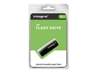 Integral Europe Clés USB INFD8GBBLK.