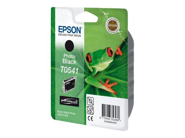 Epson T0541 - grenouille - photo noire - originale - cartouche d'encre