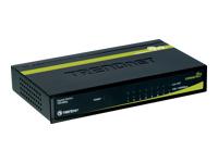 TRENDnet TEG S80G Switch 8 x 10/100/1000 desktop