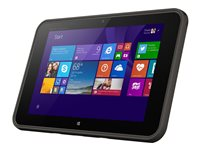 "HP Pro Tablet 10 EE G1 - Tablet - Atom Z3735F / 1.33 GHz - Win 10 Pro 32-bit - 2 GB RAM - 64 GB eMMC - 10.1"" IPS touchscreen 1280 x 800 - HD Graphics - 3G - lava gray"