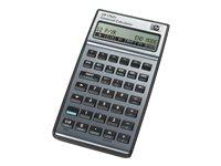 HP 17bII+ - Financial calculator - battery - carbonite, alloy metallic