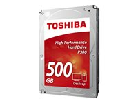"TOSHIBA DISCO INTERNO 500GB 3.5"" SATA3 7200RPM 64MB P300 CAJ"
