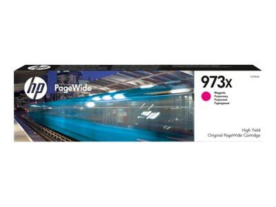 HP 973X - à rendement élevé - magenta - originale - PageWide - cartouche d'encre