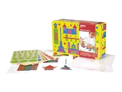 APLI kids Monuments - jeu complet d'adhésif de décoration