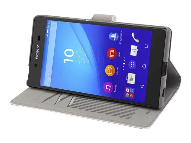 Muvit MFX slim s folio - Protection à rabat pour Sony XPERIA Z5 - blanc