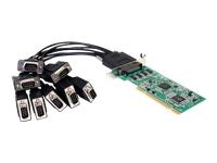 StarTech.com Carte PCI à Faible Encombrement avec 8 Ports RS232 - Adaptateur Serie - UART 16950
