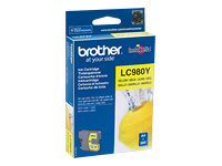 Brother Cartouche jet d'encre d'origine LC980Y