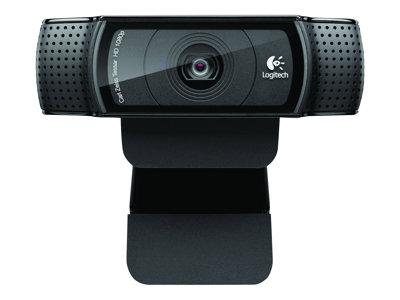 Logitech HD Pro Webcam C920 - Webová kamera - barevný - 1920 x 1080 - audio - USB 2.0 - H.264
