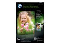 HP Everyday - Glossy - 8 mil - 4 in x 6 in - 200 g/m² - 53 lbs - 100 sheet(s) photo paper - for Envy 50XX, 76XX; Officejet 52XX; PageWide Pro 477; Photosmart B110, Wireless B110