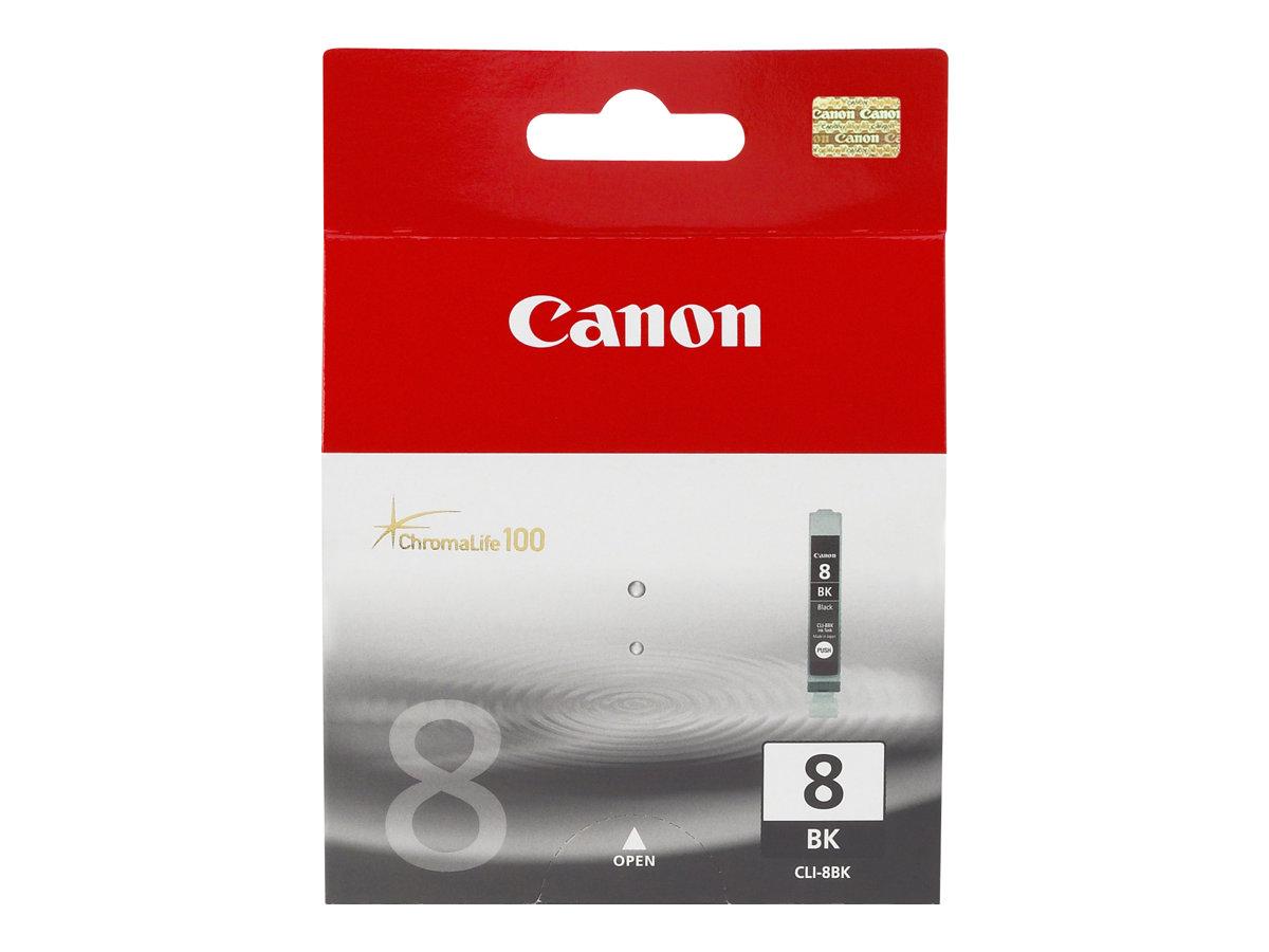 Canon CLI-8Bk - noir - originale - réservoir d'encre