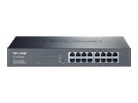 TP-LINK JetStream TL-SG1016DE - commutateur - 16 ports - Géré - Montable sur rack