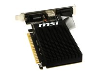 MSI VGA NVD GT710 1GB DDR3 VGA/HDMI/DVI PCIx16 Low Profile