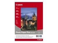 Canon Photo Paper Plus SG-201 - papier semi-brillant - 20 feuille(s)
