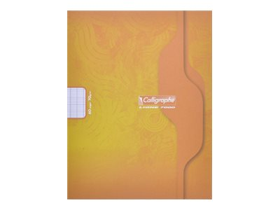 Calligraphe 7000 - A5+ - Cahier - 17 x 22 - 48 pages - Grands carreaux