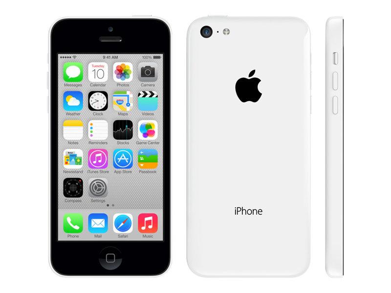 apple iphone 5c blanc 4g lte 16 go gsm. Black Bedroom Furniture Sets. Home Design Ideas