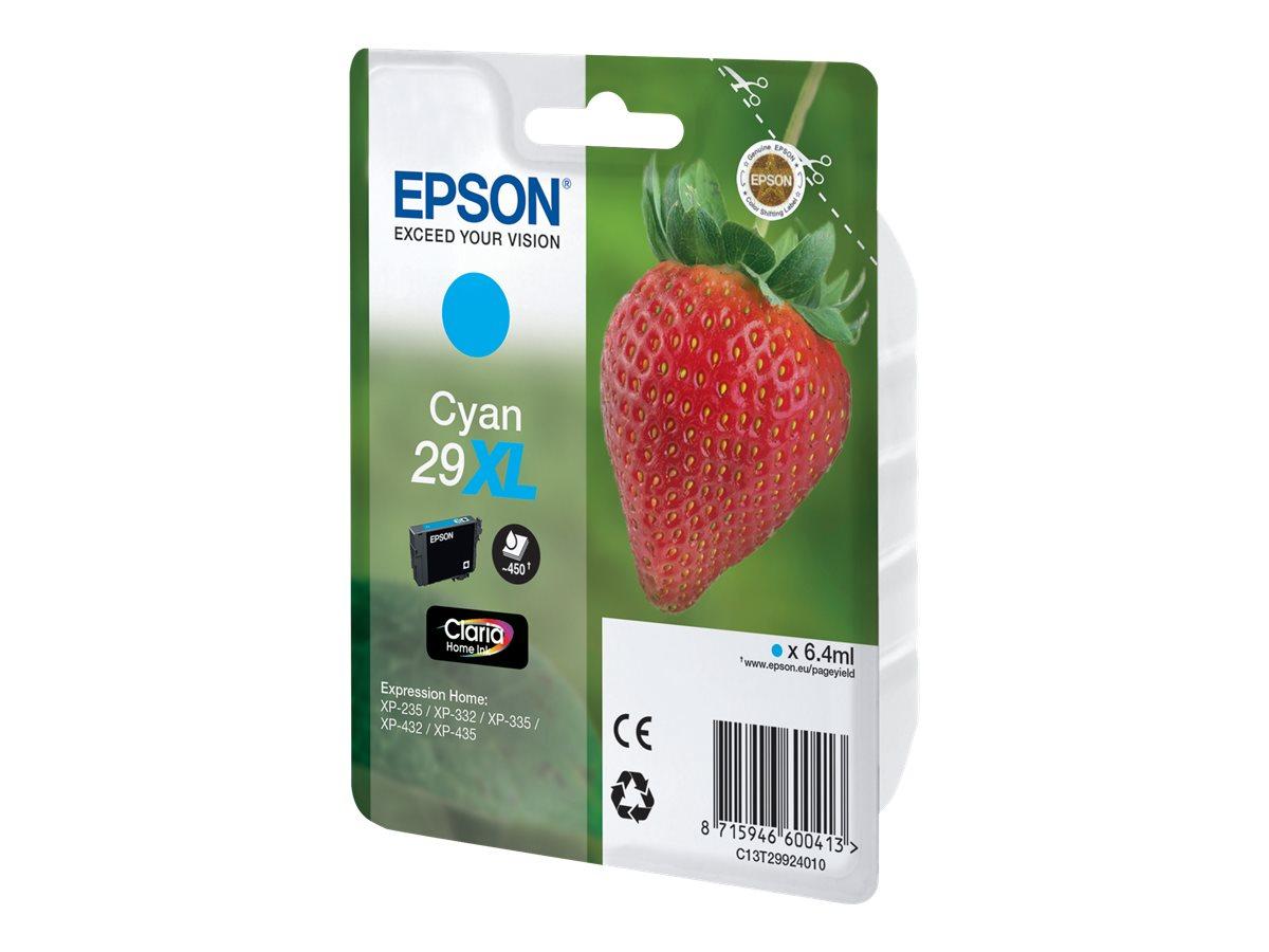 Epson 29XL - haute capacité - cyan - originale - cartouche d'encre