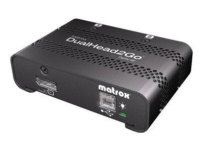 Matrox Graphics eXpansion Module DualHead2Go - Digital SE - nástroj pro převod videa - DisplayPort, VGA