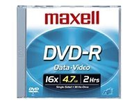 Maxell Dvd-R 4.7Gb 16X Recrdable 10Pk