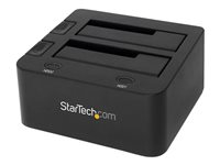 """StarTech.com USB 3.0 Dual Hard Drive Docking Station with UASP for 2.5 / 3.5in HDD / SSD - USB 3.5"""" SATA HDD / SSD Dock - SATA 6 Gbps"""