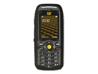 CAT B25 Mobiltelefon dual-SIM microSDHC slot GSM 320 x 240 pixels TFT