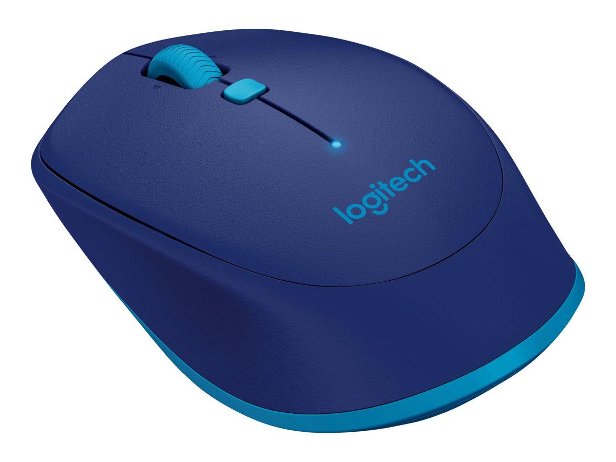 Logitech M535 - souris - Bluetooth 3.0 - bleu