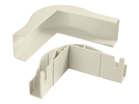 C2G Wiremold Uniduct 2900 Bend Radius Compliant External Elbow