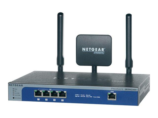 Image of NETGEAR ProSafe SRXN3205 - wireless router - 802.11a/b/g/n (draft 2.0) - desktop