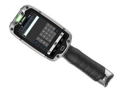 """Zebra TC8000 Standard - Data collection terminal - Android 4.4.3 (KitKat) - 4 GB - 4"""" color (800 x 480) - barcode reader - (2D imager) - USB host - microSD slot - Wi-Fi, Bluetooth"""