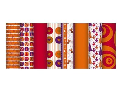 Clairefontaine Accacia - Papier cadeau - 70 cm x 5 m - 80 g/m² - Noël doux - papier