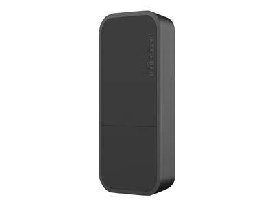 MikroTik RouterBOARD wAP - Black Edition - bezdrátový access point - 802.11b/g/n - 2.4 GHz